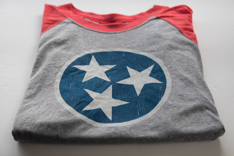 Tennessee Shirt Tri Star Shirt Graphic Design Tennessee Tristar Shirt