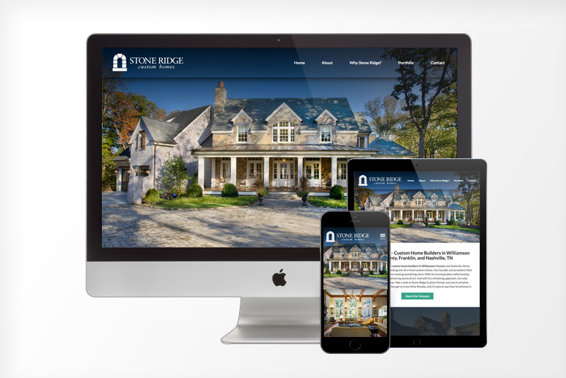 Website Design Nashville Home Builder Web Design Construction Company Franklin TN